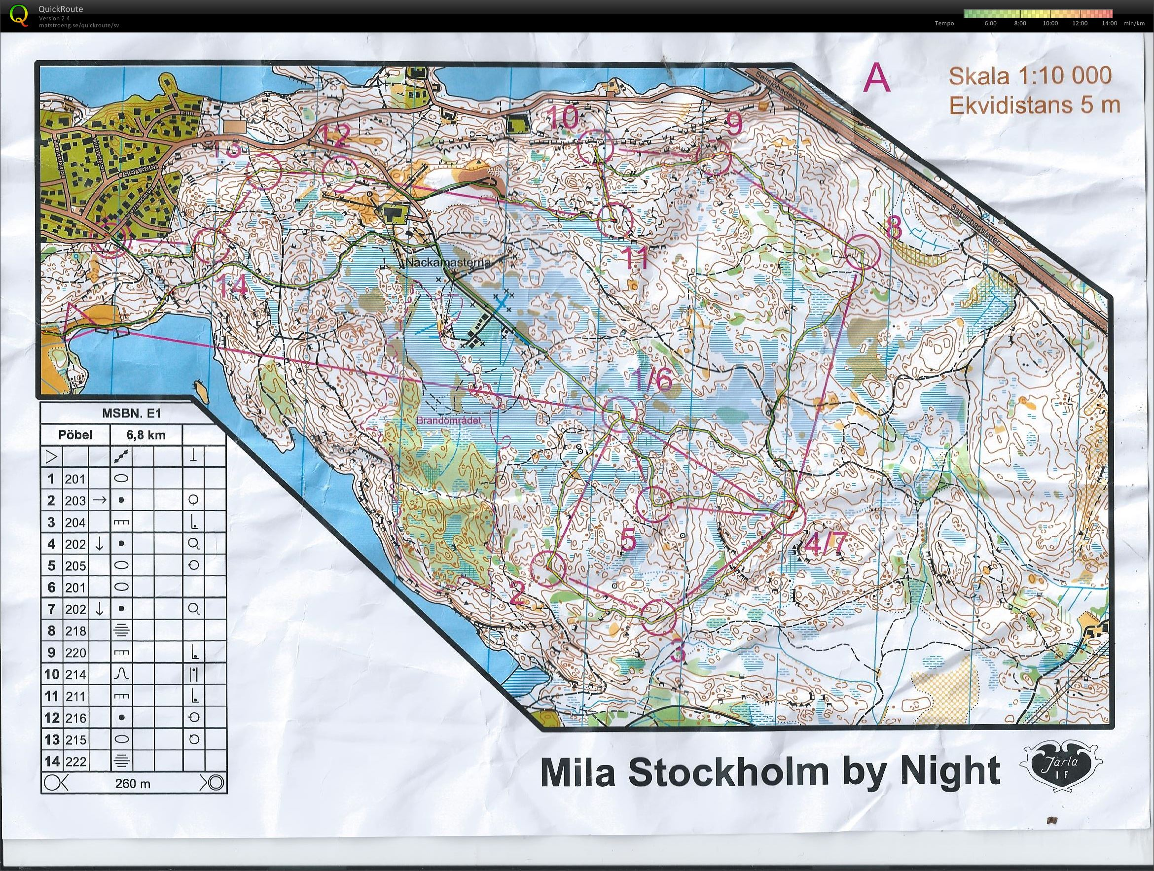Mila by night etapp 1 (2014-11-12)