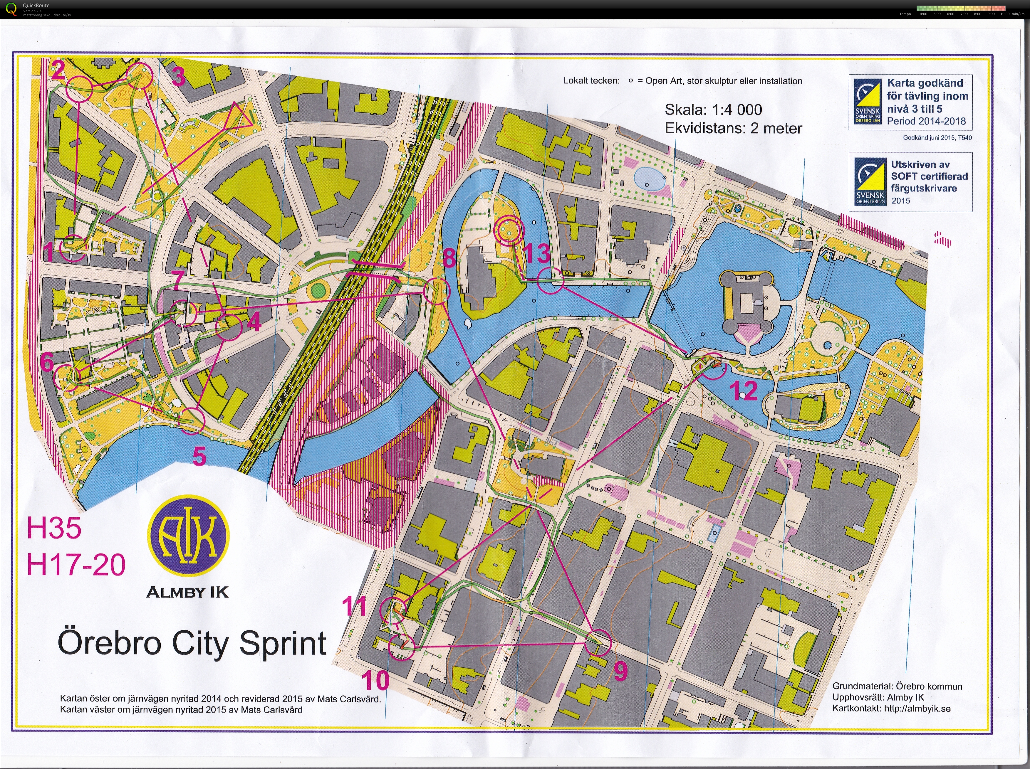 Örebro City Sprint (2015-06-21)